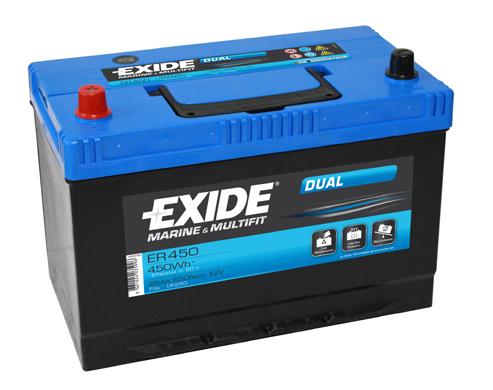 EXIDE DUAL ER 450 12V/95Ah