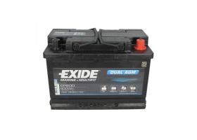 EXIDE DUAL AGM EP600 12V/70Ah