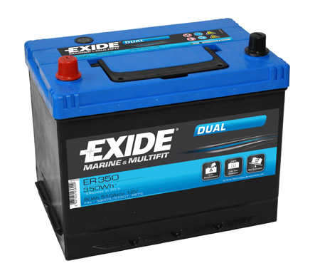 EXIDE DUAL ER 350 12V/80Ah