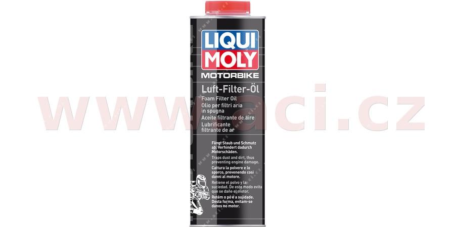 LIQUI MOLY olej na vzduchové filtry motocyklů 1 l