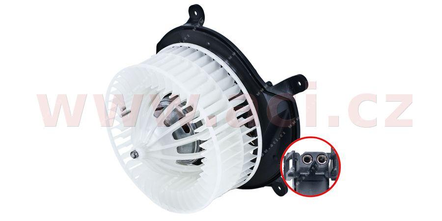 vnitřní ventilátor topení a klimatizace (pro auto AC) výrobce BEHR-HELLA