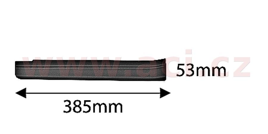 zadní plastová lišta prahu černá (pouze pro vozy s pohonem 4x4) ORIGINÁL, P