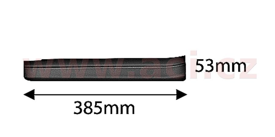 zadní plastová lišta prahu RS-WRC ORIGINÁL, P