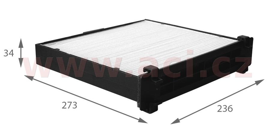 kabinový filtr (prachový a pylový) VALEO