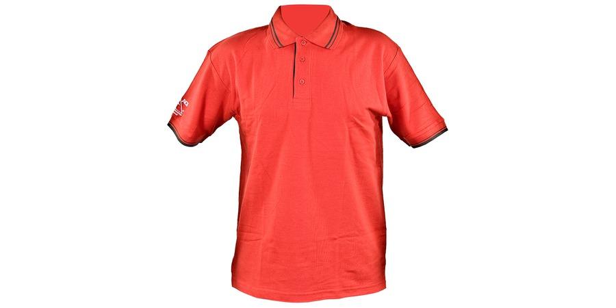 Triko ACI červené s límečkem (velikost XXL)