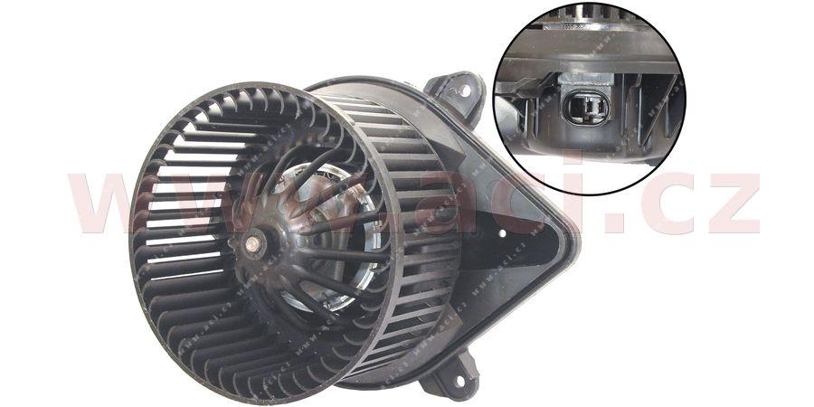 vnitřní ventilátor topení a klimatizace (pro Manuální AC)
