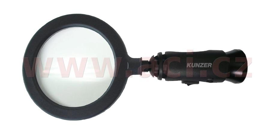 lupa (90 mm) s LED osvětlením