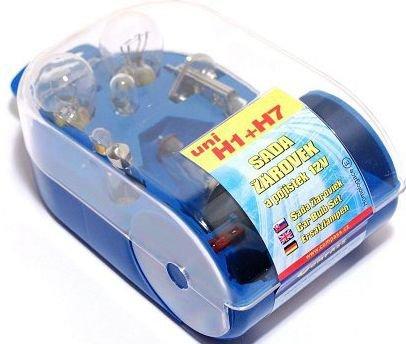 Žárovky servisní box univerzální H7 + H1