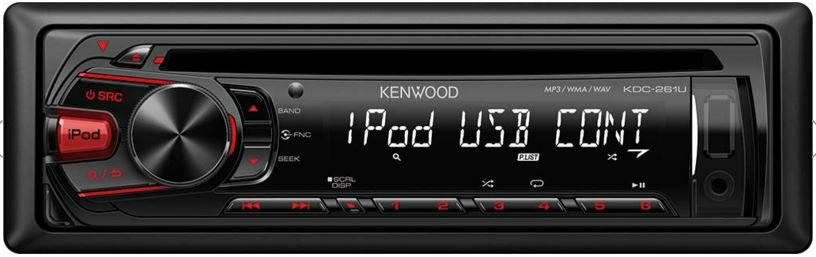 Autorádio Kenwood KDC-261UR s USB,AUX,CD/CD-R/MP3/WMA 4 x 50W