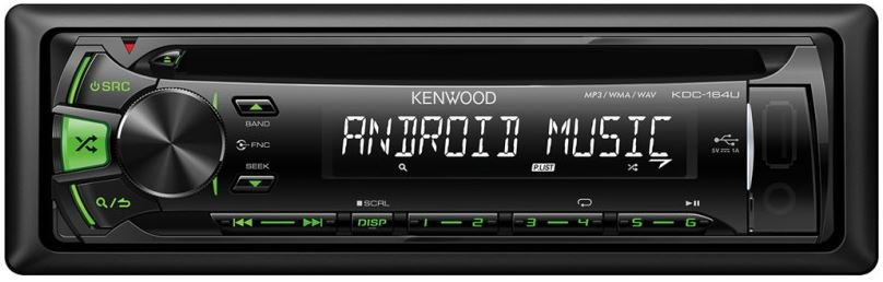 Autorádio Kenwood KDC-164UG s USB,AUX,CD 4 x 50W