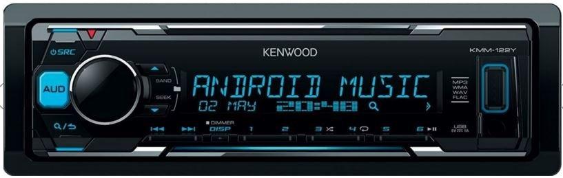 Autorádio Kenwood KMM-122Y s USB,AUX 4 x 50W
