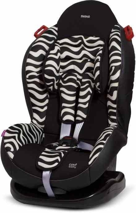 Autosedačka COTO BABY SWING 9 – 25kg zebra