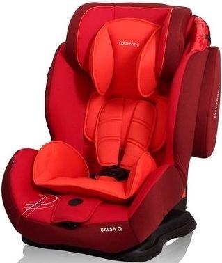 Autosedačka COTO BABY SALSA SUPRA Q 9 – 36kg červená