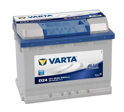 Autobaterie Varta Blue Dynamic Pravá 60Ah/540A