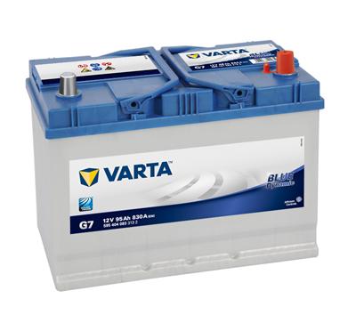 Autobaterie Varta Blue Dynamic Pravá 95Ah/830A