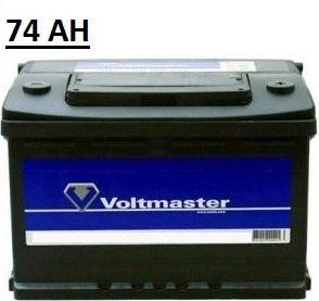 Autobaterie Voltmaster Pravá 74Ah/680A