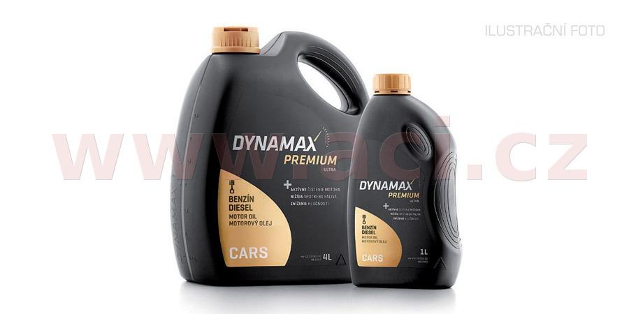 DYNAMAX PREMIUM SN PLUS 10W40, polosyntetický motorový olej 5 l
