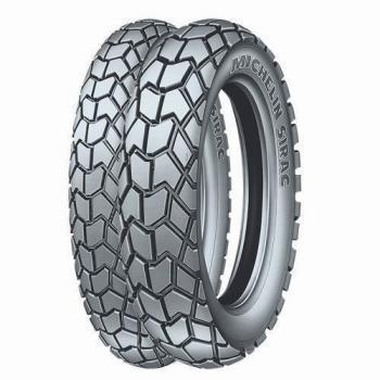 110/90D17 60P, Michelin, SIRAC, 717852