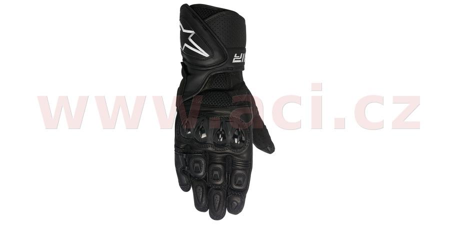 rukavice SP AIR, ALPINESTARS (černá, vel. XL)