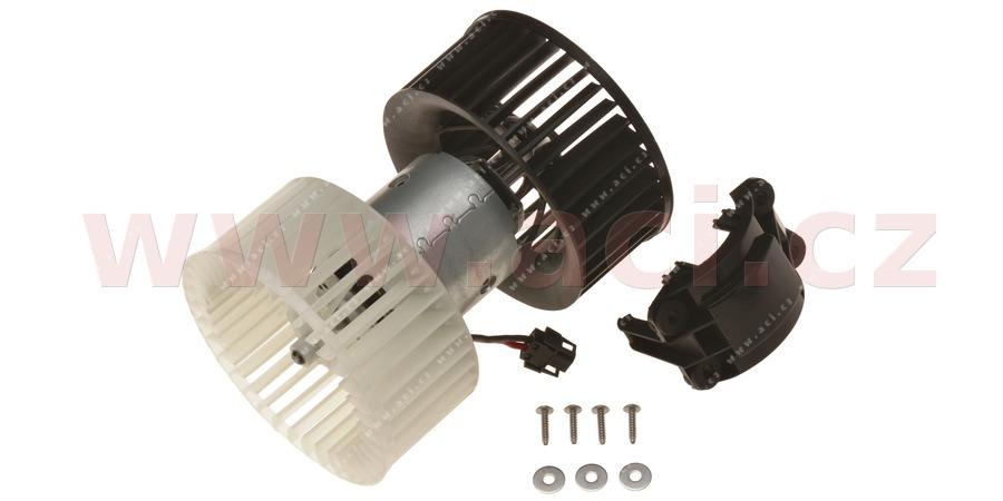 vnitřní ventilátor topení a klimatizace (pouze pro manuální AC)