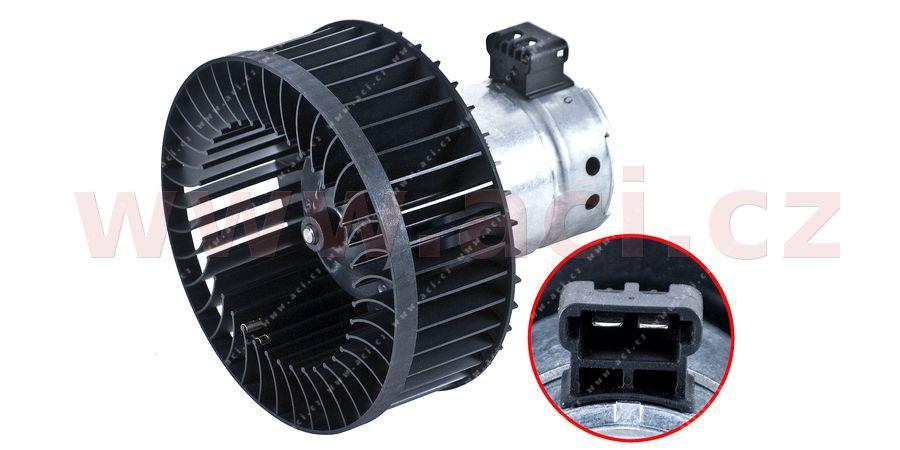 vnitřní ventilátor topení - pro vozidla bez klimatizace