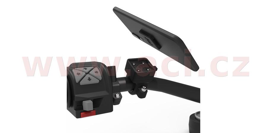 držák mobilních telefonů/kamer/navigací CLIQR, sada na řídítka o průměru 22 mm, OXFORD