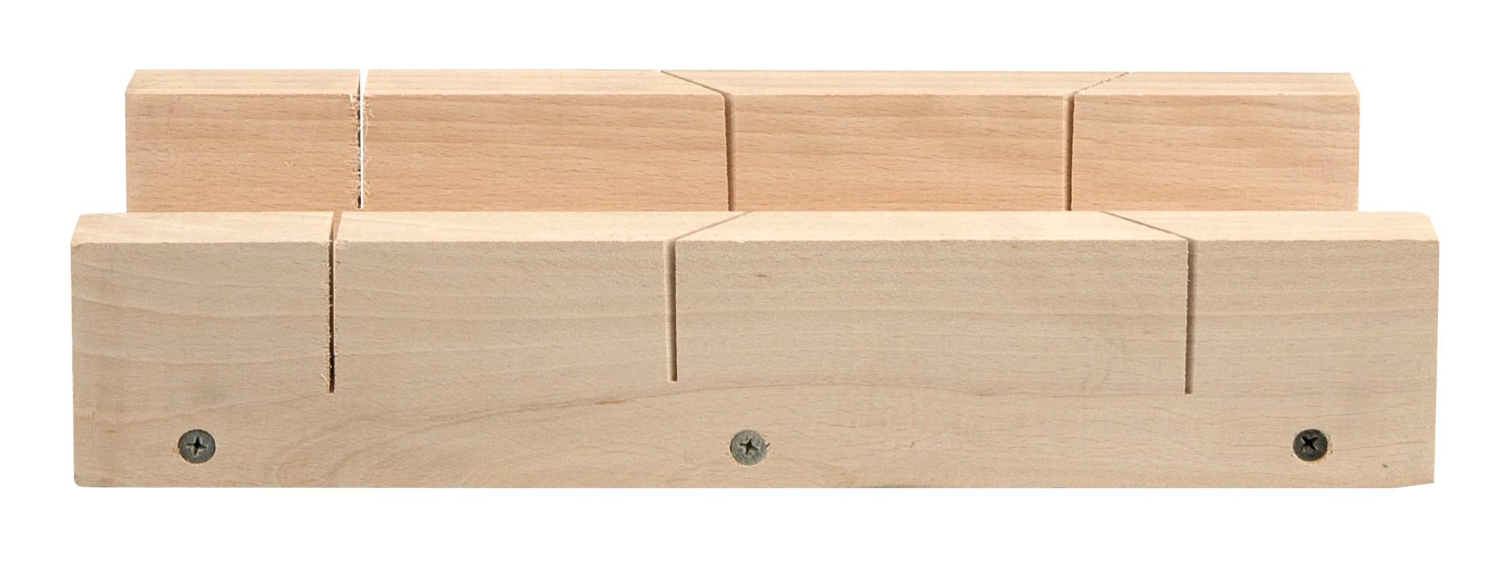 Přípravek na řezání úhlů 300 x 80 mm dřevěný
