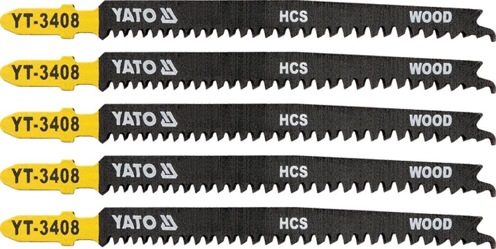 List pilový do přímočaré pily na dřevo typ T 13-8TPI sada 5 ks