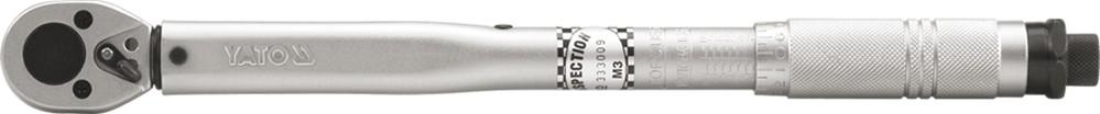 """Klíč momentový 3/8"""" 19-110 Nm CrV"""