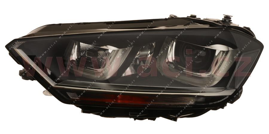 přední světlo BI-XENON+H7+LED denní svícení VALEO (prvovýroba) L