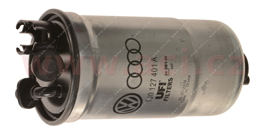 palivový filtr 1.9 SDi, 1.9 TDi (SUPERB i 2.0 TDi, 91/103 kW) ORIGINÁL